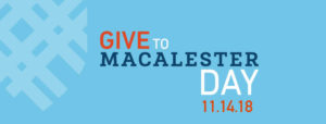 Give to Macalester Day 2018 Facebook Cover Photo