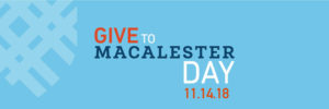 Give to Macalester Day 2018 Twitter Header Image