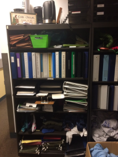 Binders, notebooks, paper, stationery, and folders…