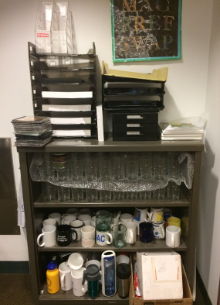 Cups, mugs, water bottles, paper trays, photo frames…
