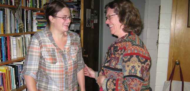 Julia Brown '11, THDA and English double major