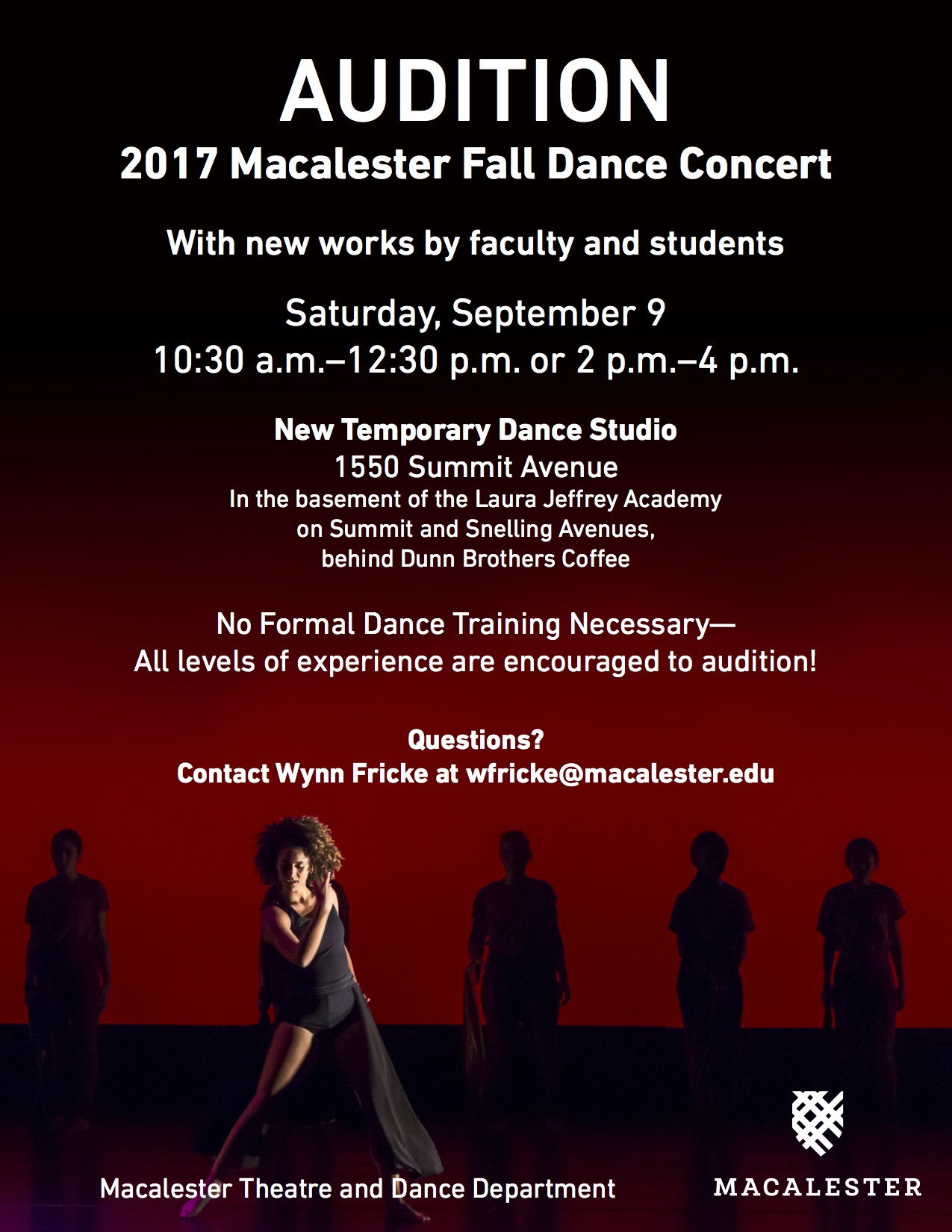 FALL 2017 Auditions Poster Working 2