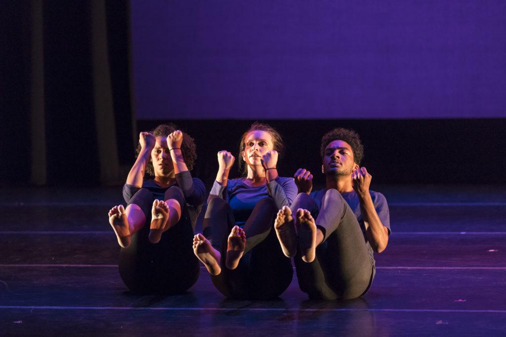 Ensemble members in the Fall 2017 Dance Concert