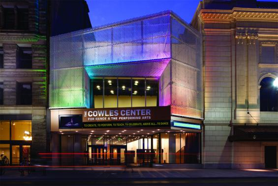 The Cowles Center, downtown Minneapolis