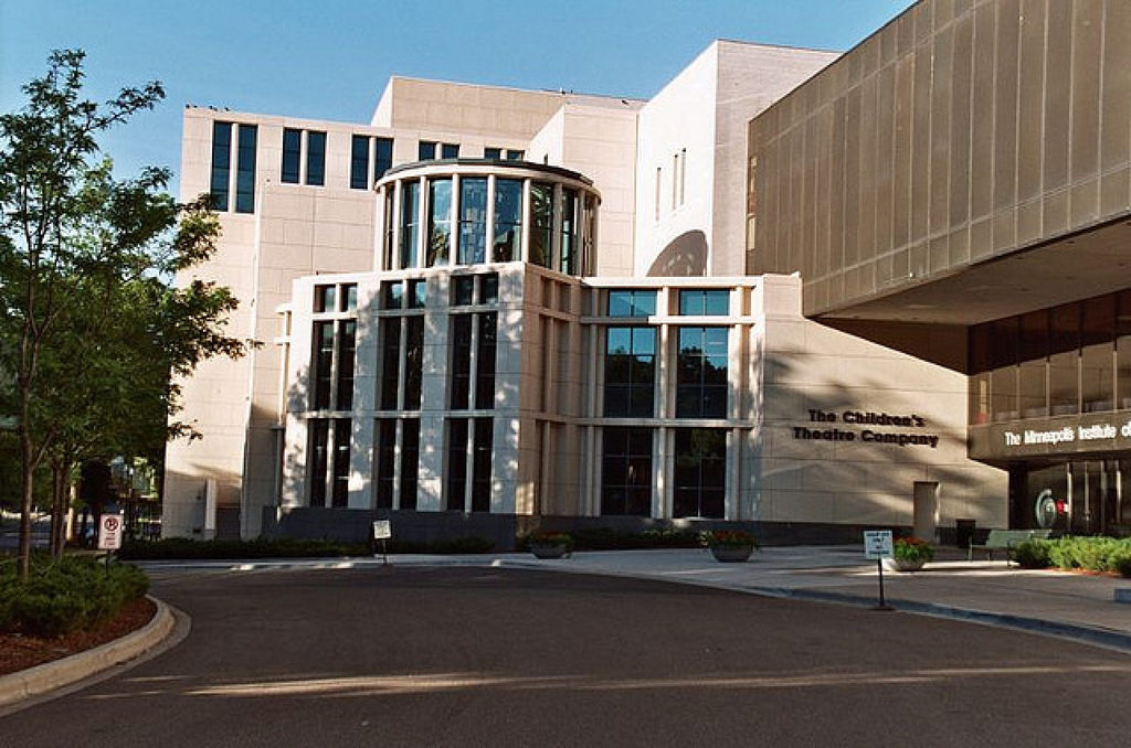 Children's Theatre Company, located adjacent to the Minneapolis Institute of Art.