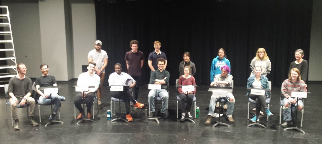 Oral Histories in Performance staged reading