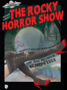The Rocky Horror Show publicity poster