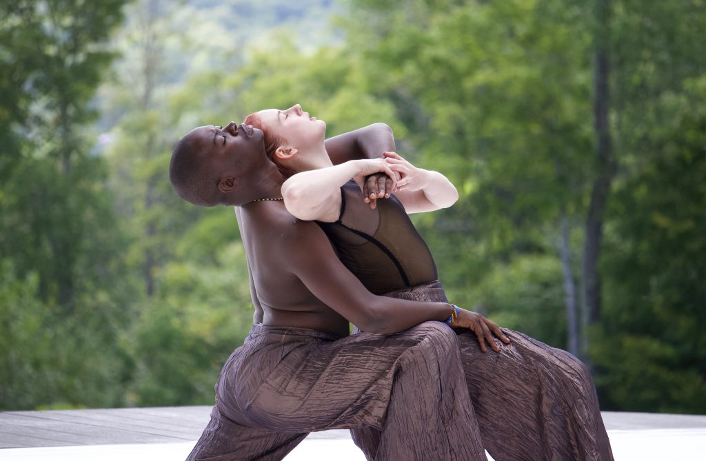 Just Her Time performance at Jacob's Pillow spring 2018, photo by Lydia Huibregtse