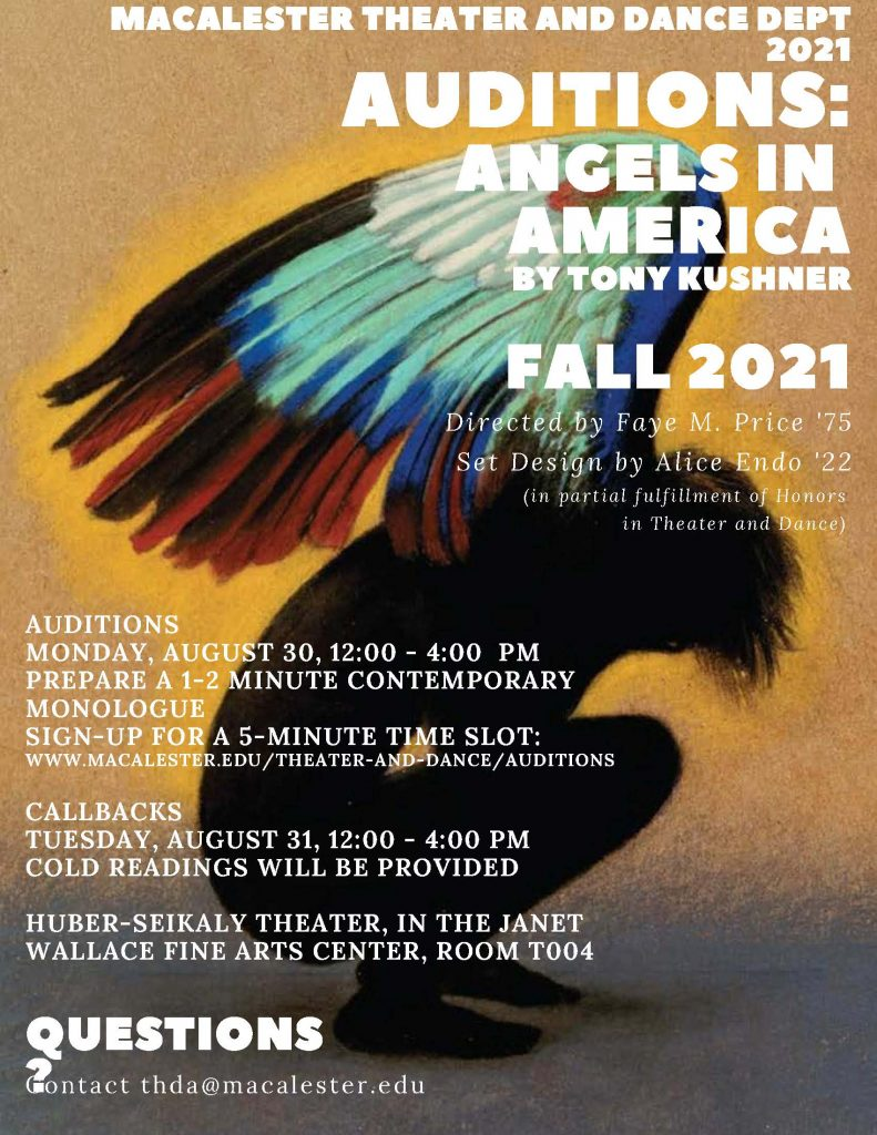 Theater Auditions, Aug 30-31