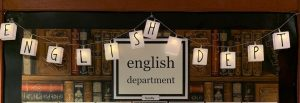 English Department Faculty Sign