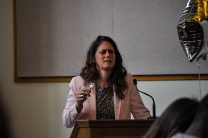Department Chair Andrea Kaston Tange