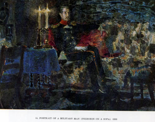 eugene onegin and pechorin  man a hero of our time eugene onegin upper class affluent disregards  society in the military my army epaulettes p65, pechorin he must.